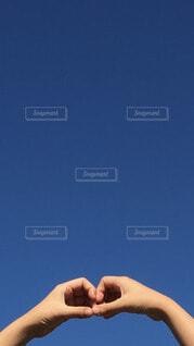 雲ひとつない青空の写真・画像素材[4713806]