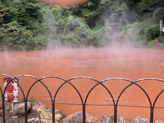 血の池地獄の写真・画像素材[4728167]