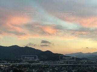 夕焼け空の写真・画像素材[4740466]