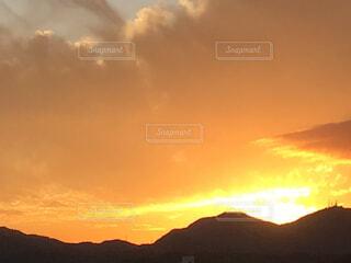 日没の写真・画像素材[4885668]