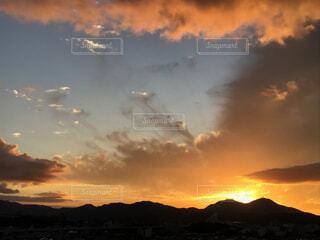 日没の写真・画像素材[4885672]