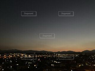 夕暮れの写真・画像素材[4885674]