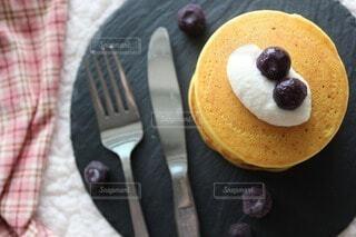 ヴィーガンパンケーキの写真・画像素材[4922528]