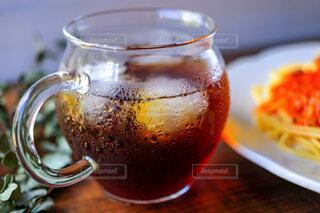 冷たいアイスコーヒーの写真・画像素材[4714625]