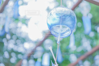 キラキラの風鈴の写真・画像素材[4722612]