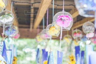 お花の風鈴の写真・画像素材[4782349]
