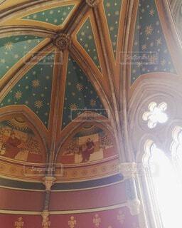 美しい天井の写真・画像素材[4731854]