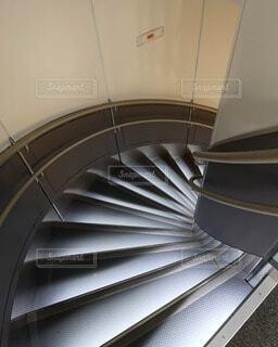 飛行機の階段の写真・画像素材[4747483]
