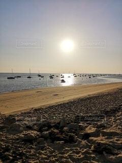 フランスのビーチの写真・画像素材[4747498]