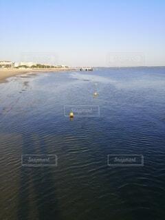 朝の海の写真・画像素材[4747502]