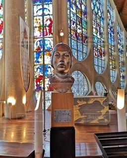 ジャンヌダルクの像の写真・画像素材[4749237]