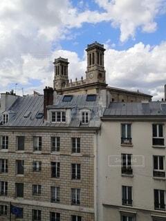 パリの町並みの写真・画像素材[4750609]