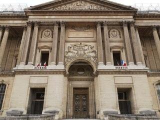ルーブル美術館の入口の写真・画像素材[4789331]