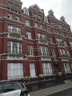 建物,屋外,海外,赤,窓,建築物,ヨーロッパ,街,家,都会,イギリス,ロンドン,アパート,草木