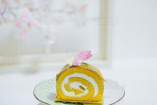 来年もまた食べたい桜スイーツの写真・画像素材[4738821]