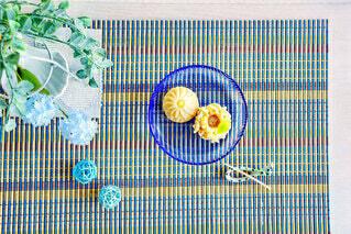 夏の和菓子の写真・画像素材[4738870]