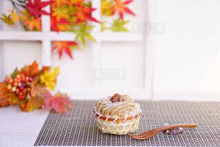 秋色スイーツの写真・画像素材[4814650]