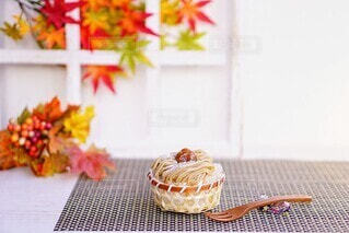 秋のスイーツの写真・画像素材[4880099]