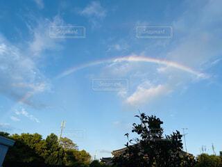 空の虹の写真・画像素材[4769563]