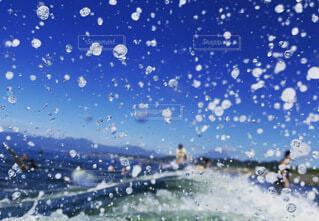 躍動感、溢れる青の写真・画像素材[4743029]