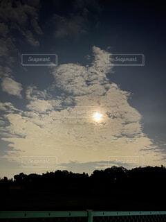 自然,風景,空,夜,屋外,雲,暗い,月