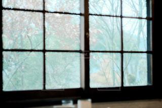 雨の日の窓際の写真・画像素材[1005098]