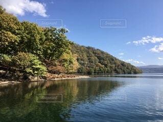 洞爺湖の秋の写真・画像素材[4750202]