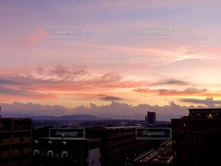 自然,風景,空,屋外,雲,朝焼け,日の出