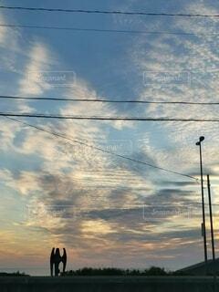 夕日の写真・画像素材[4855476]