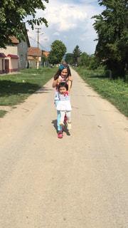 子供,ツーショット,ルーマニア