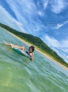 今年初、海!の写真・画像素材[4756537]