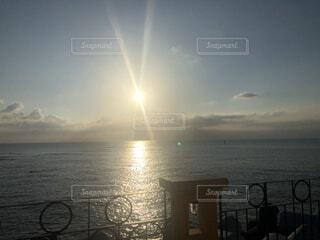 海から見える景色の写真・画像素材[4816821]