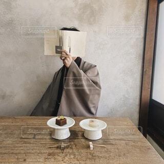 京都のお洒落カフェの写真・画像素材[4798887]