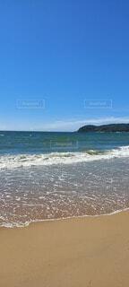 自然,空,ビーチ,水面