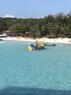 自然,風景,海,屋外,緑,ビーチ,ボート,島,船,水面,旅,ブルー,バカンス,リゾート