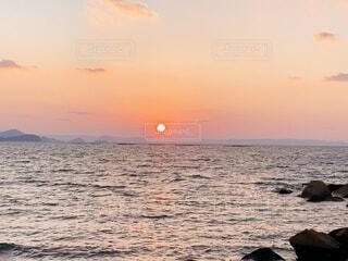 夕陽の写真・画像素材[4837833]