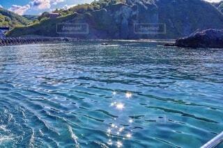 積丹の海が輝くの写真・画像素材[4760670]