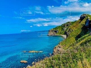 積丹神威岬の写真・画像素材[4760672]