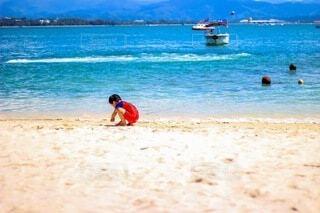 マレーシアの海での写真・画像素材[4760671]