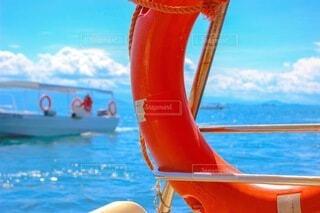 ボートの海から見えるマレーシアの海の写真・画像素材[4760674]