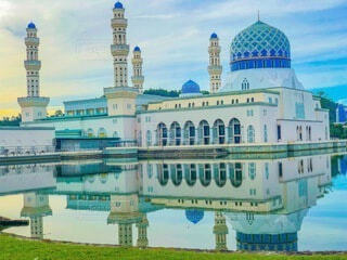 マレーシアのモスクの写真・画像素材[4857415]