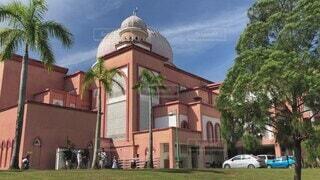 マレーシアのピンクモスクの写真・画像素材[4818725]