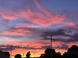 夕焼けの写真・画像素材[4760606]
