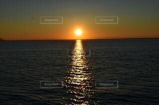自然,海,空,屋外,湖,太陽,ビーチ,雲,夕暮れ,水面