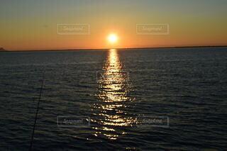 自然,海,空,屋外,湖,太陽,ビーチ,夕暮れ,水面