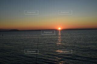 自然,海,空,屋外,湖,太陽,ビーチ,雲,夕暮れ,水面,地平線,穏やか