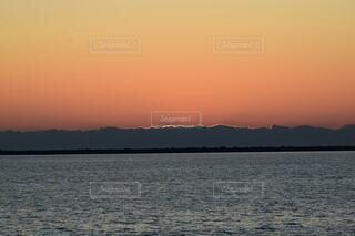 自然,風景,海,空,屋外,湖,ビーチ,雲,夕暮れ,水面,山