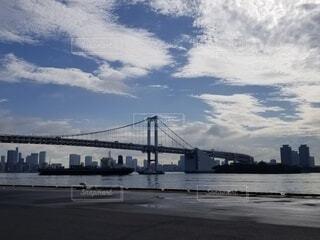 空,屋外,雲,船,川,水面