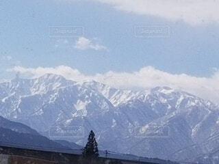自然,雪,屋外,山,スキー
