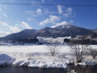 自然,風景,空,冬,雪,屋外,雲,山,樹木,覆う